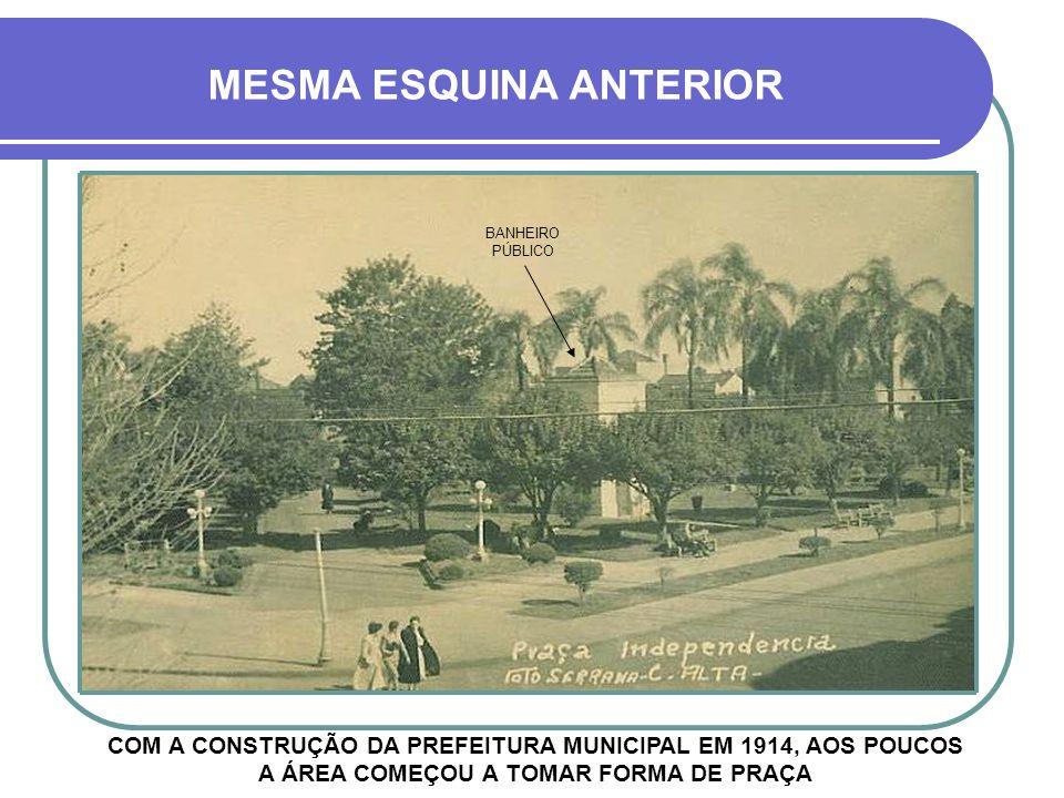 MESMA ESQUINA ANTERIOR