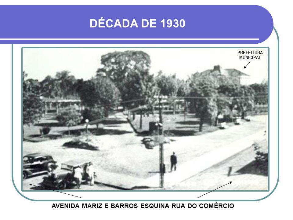 AVENIDA MARIZ E BARROS ESQUINA RUA DO COMÉRCIO