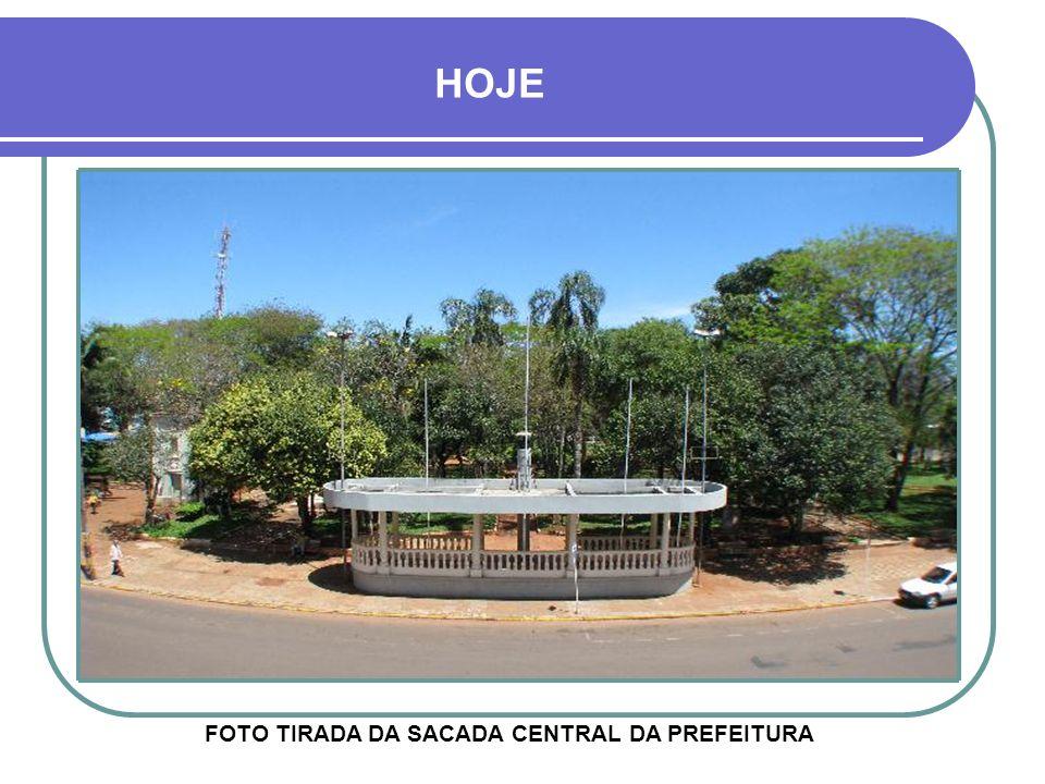 FOTO TIRADA DA SACADA CENTRAL DA PREFEITURA