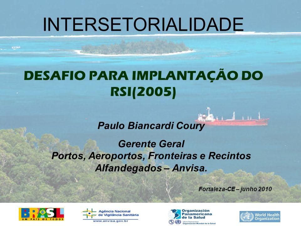 DESAFIO PARA IMPLANTAÇÃO DO RSI(2005)