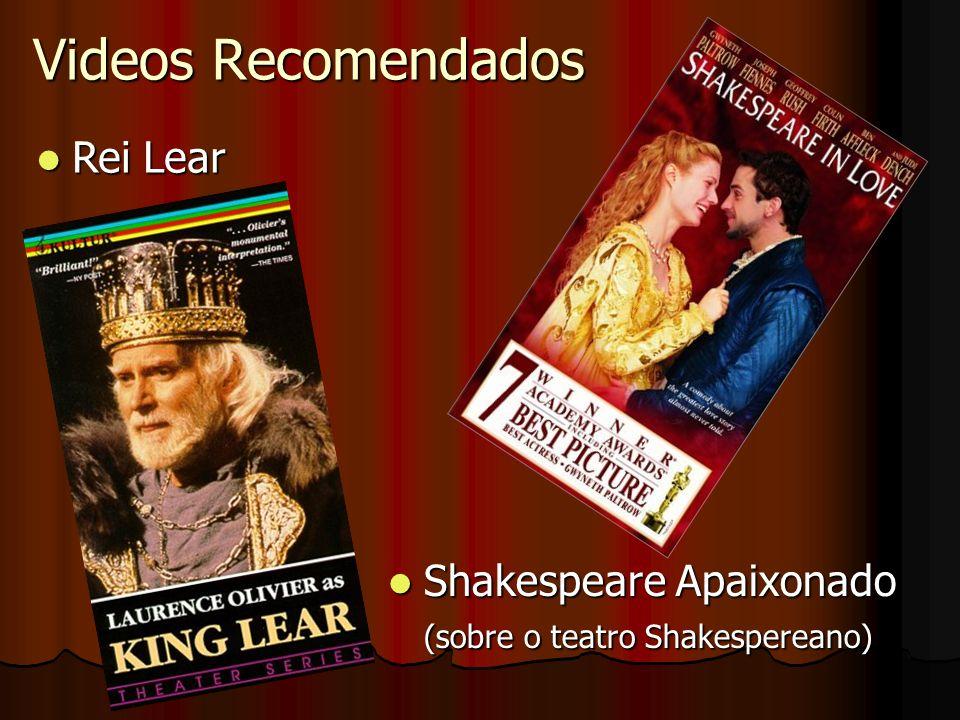 Videos Recomendados Rei Lear Shakespeare Apaixonado