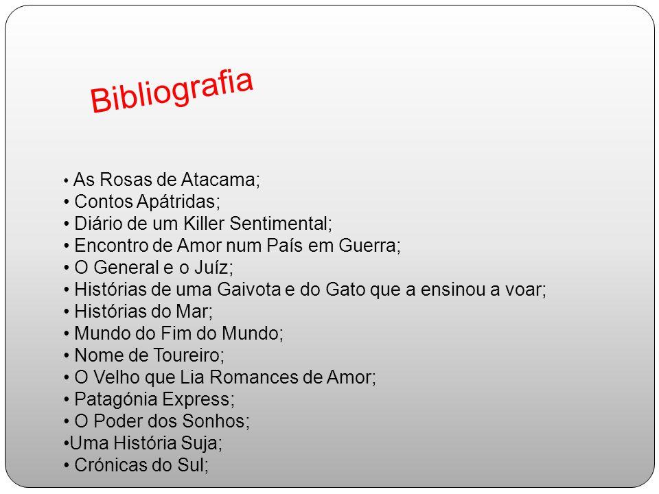 Bibliografia Contos Apátridas; Diário de um Killer Sentimental;