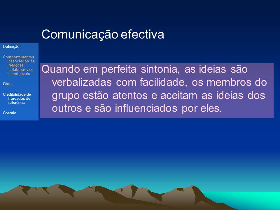 Comunicação efectiva