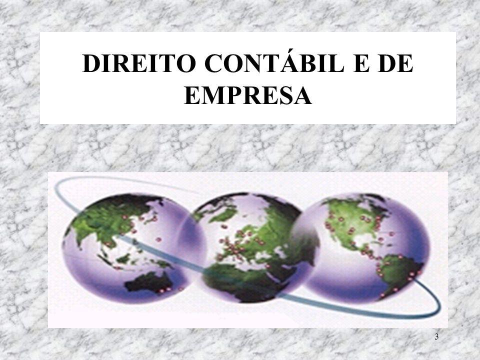 DIREITO CONTÁBIL E DE EMPRESA
