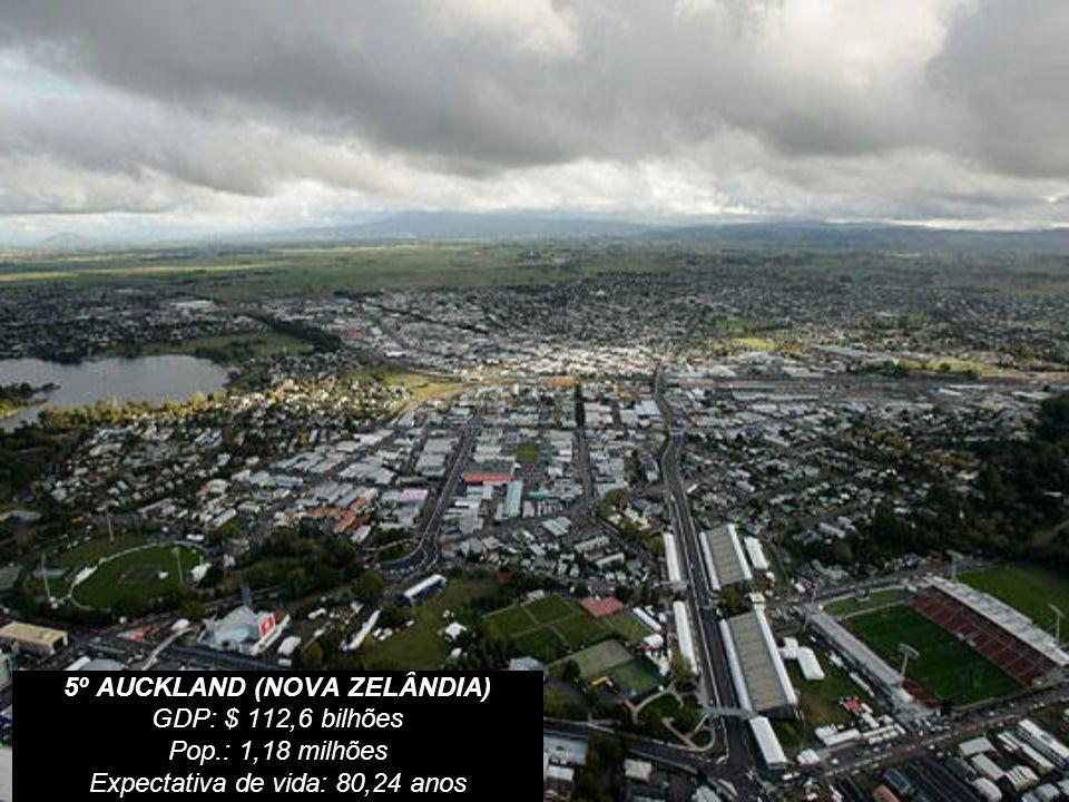 5º AUCKLAND (NOVA ZELÂNDIA)