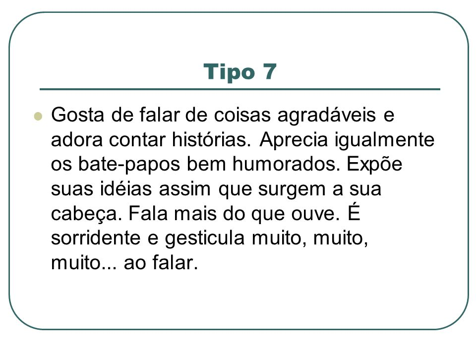 Tipo 7