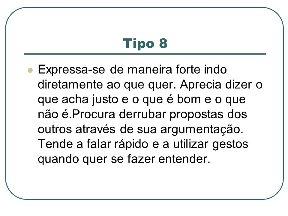 Tipo 8