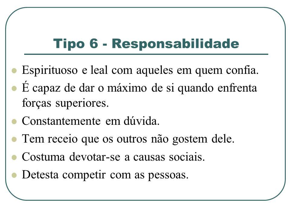 Tipo 6 - Responsabilidade