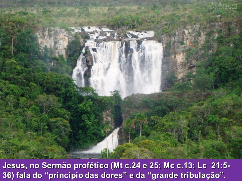 Jesus, no Sermão profético (Mt c. 24 e 25; Mc c