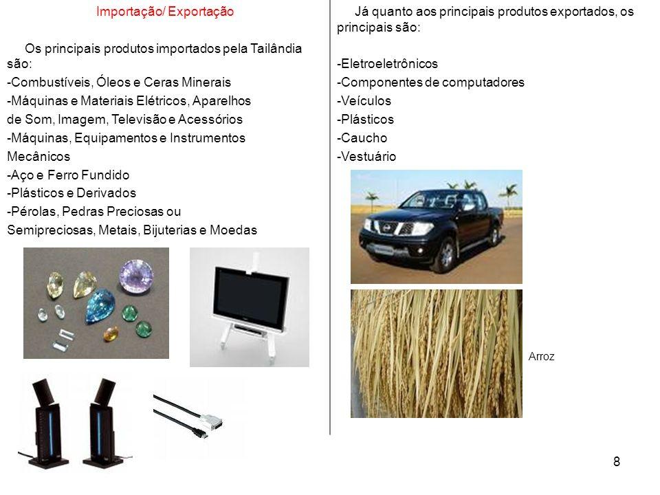 Importação/ Exportação