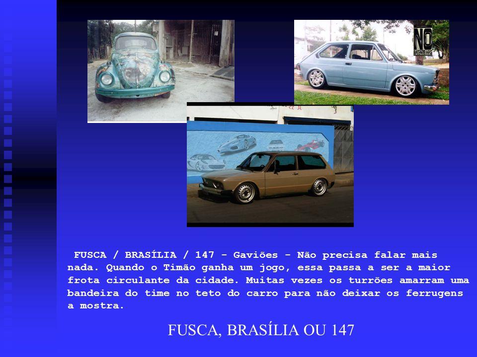 FUSCA / BRASÍLIA / 147 - Gaviões - Não precisa falar mais nada
