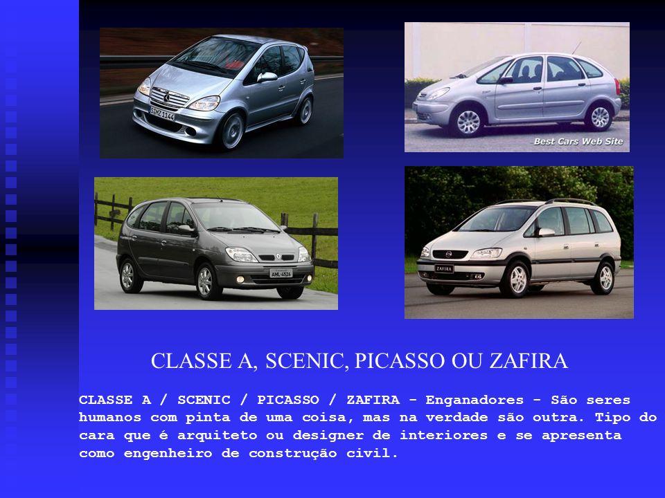 CLASSE A, SCENIC, PICASSO OU ZAFIRA