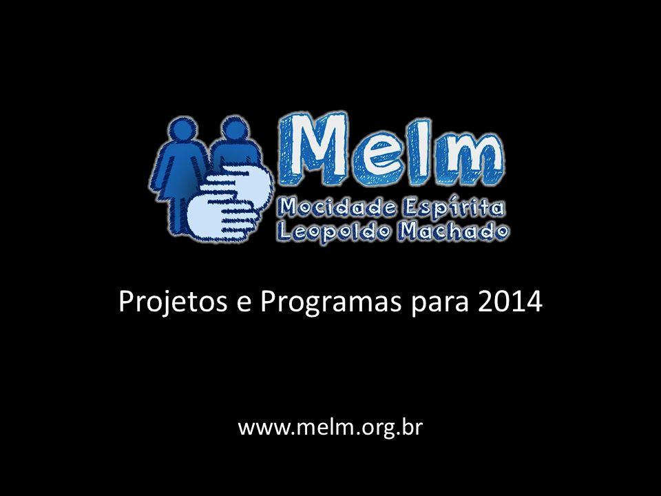 Projetos e Programas para 2014 www.melm.org.br