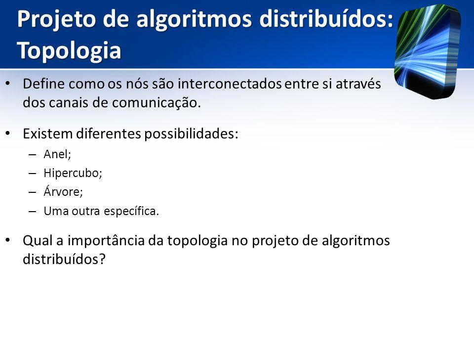 Projeto de algoritmos distribuídos: Topologia