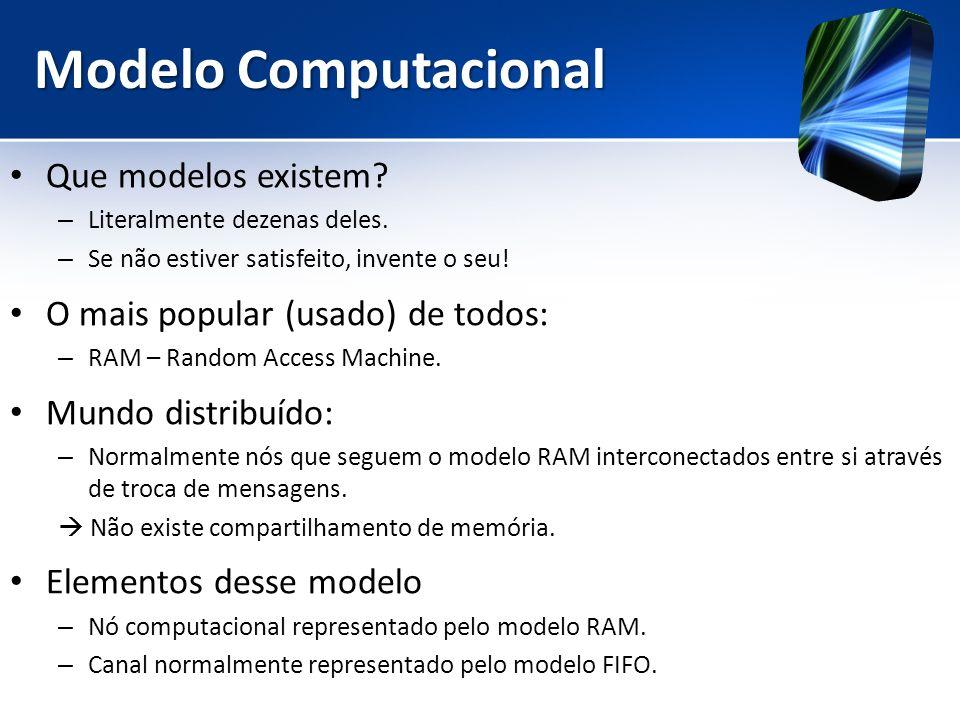 Modelo Computacional Que modelos existem