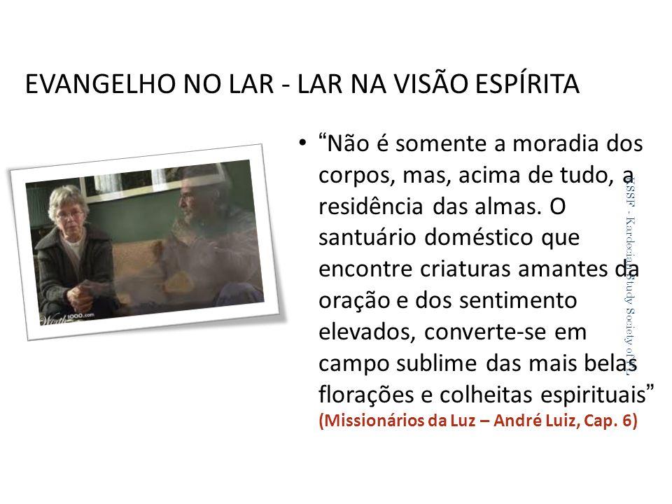 EVANGELHO NO LAR - LAR NA VISÃO ESPÍRITA