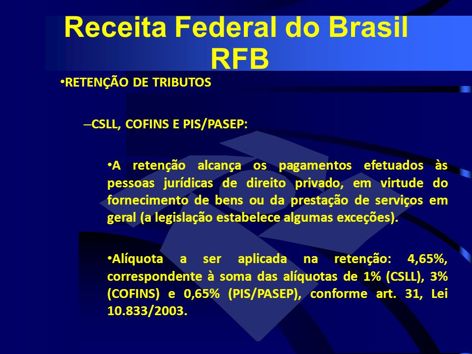 Receita Federal do Brasil RFB