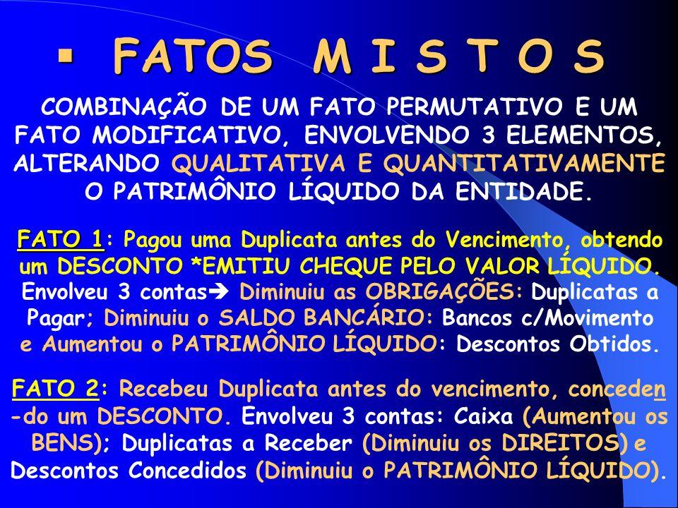 FATOS M I S T O S
