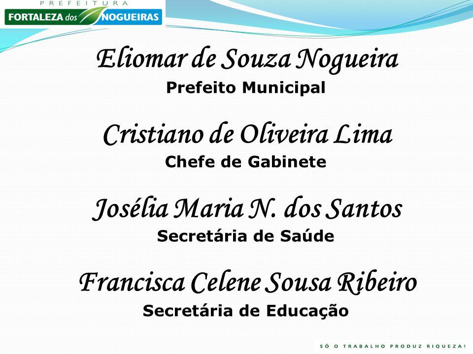 Eliomar de Souza Nogueira Cristiano de Oliveira Lima