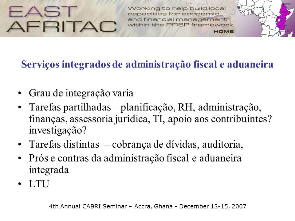 Serviços integrados de administração fiscal e aduaneira