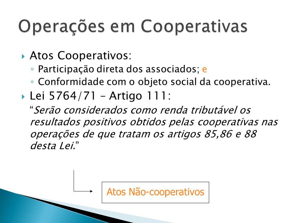 Operações em Cooperativas