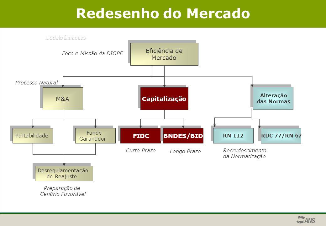 Redesenho do Mercado Modelo Dinâmico Eficiência de Mercado M&A