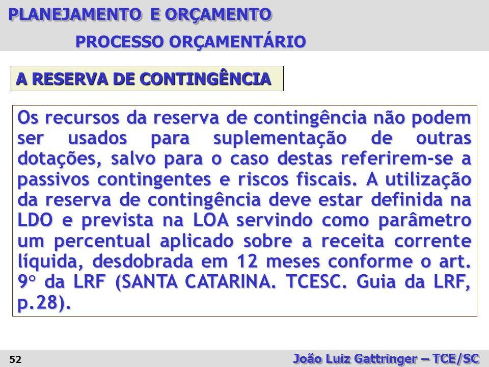 PROCESSO ORÇAMENTÁRIO