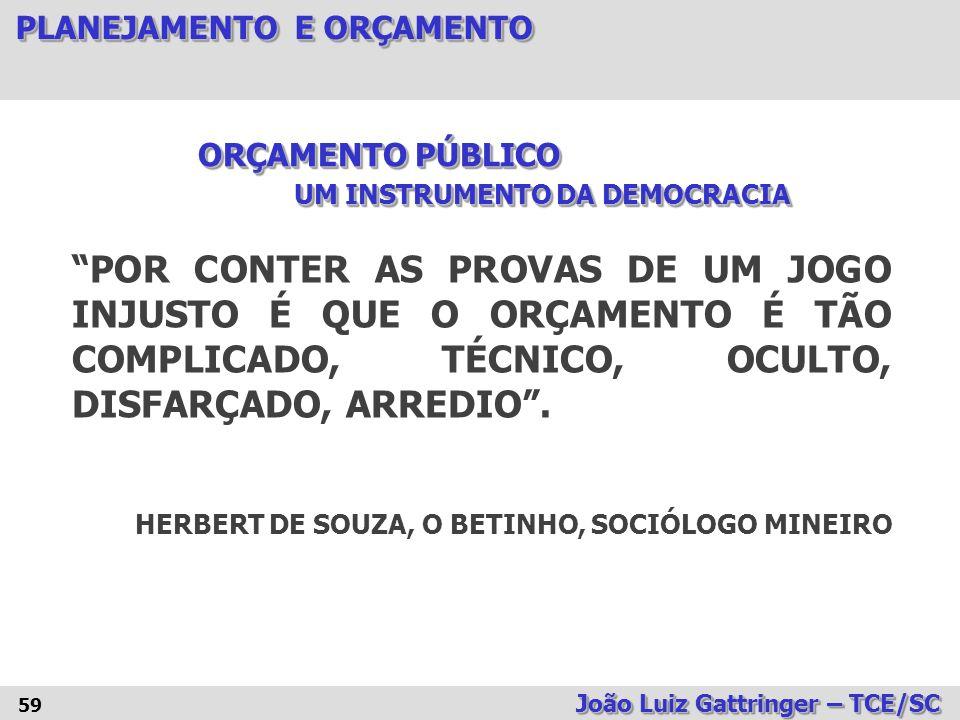ORÇAMENTO PÚBLICO UM INSTRUMENTO DA DEMOCRACIA.