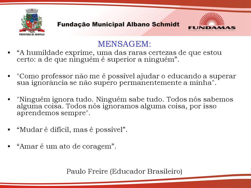 Paulo Freire (Educador Brasileiro)