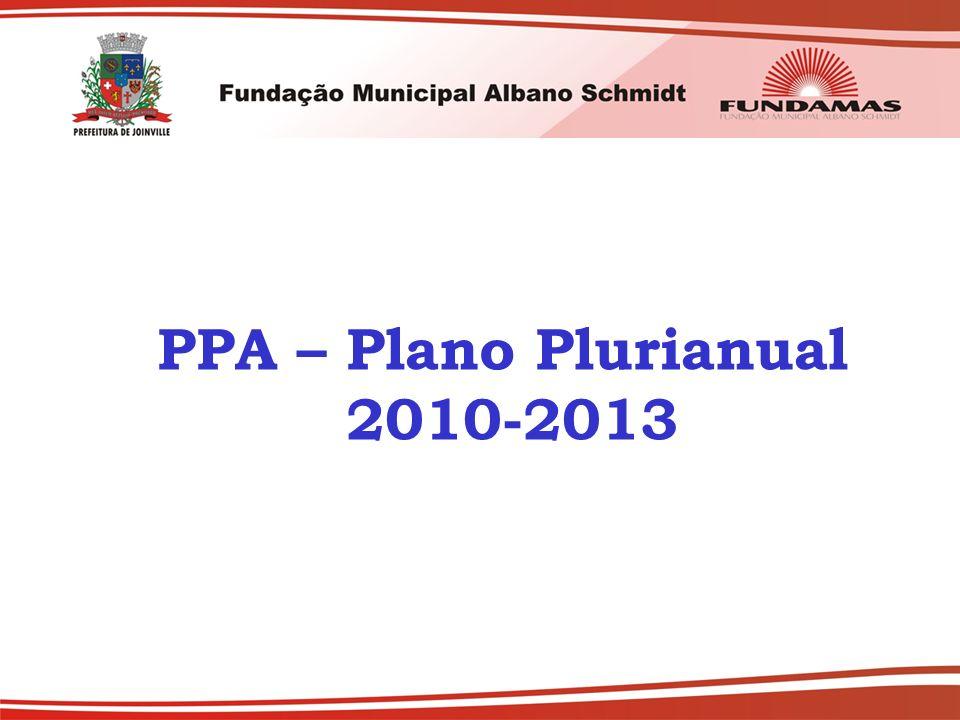 PPA – Plano Plurianual 2010-2013