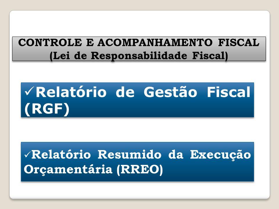 CONTROLE E ACOMPANHAMENTO FISCAL (Lei de Responsabilidade Fiscal)