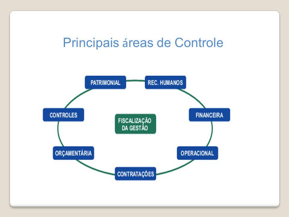 Principais áreas de Controle
