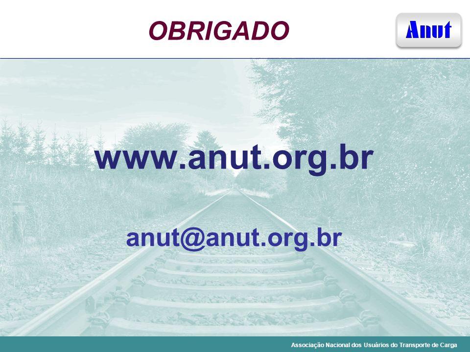 OBRIGADO www.anut.org.br anut@anut.org.br