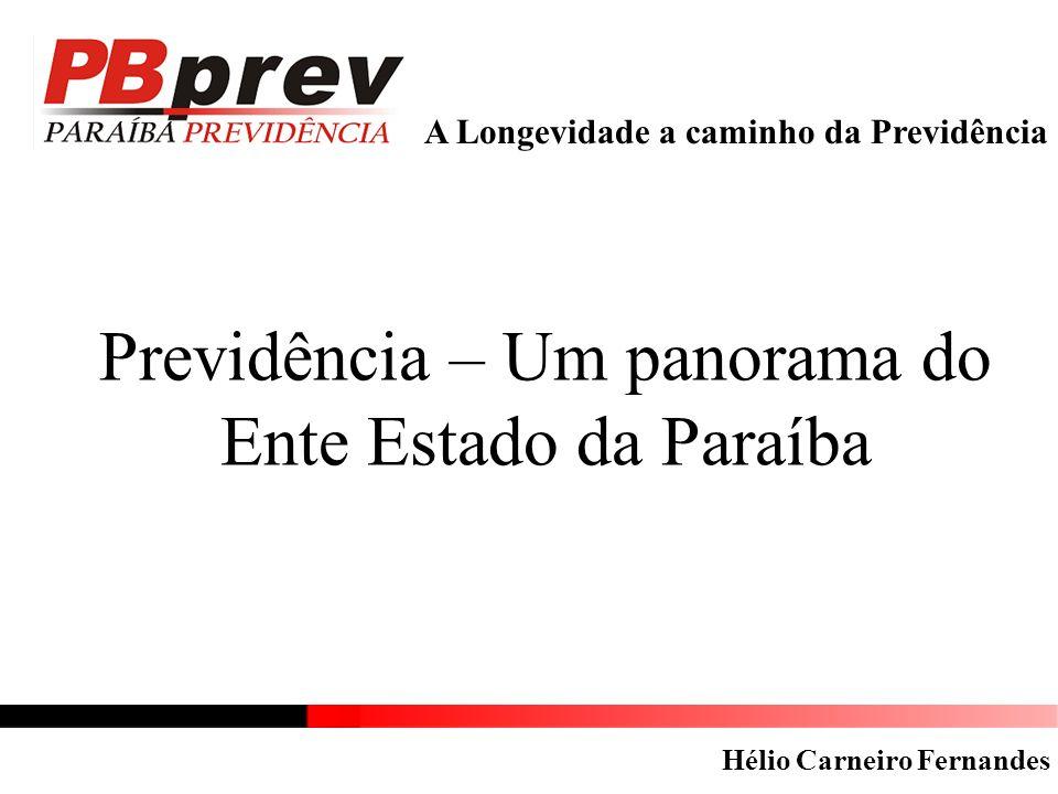 Previdência – Um panorama do Ente Estado da Paraíba