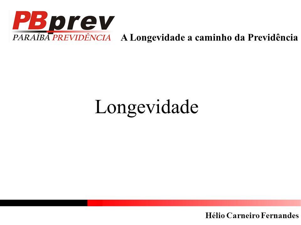 Longevidade A Longevidade a caminho da Previdência