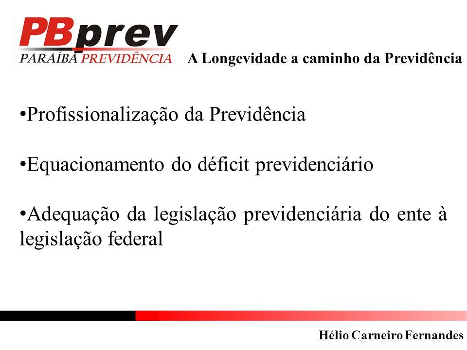 Profissionalização da Previdência