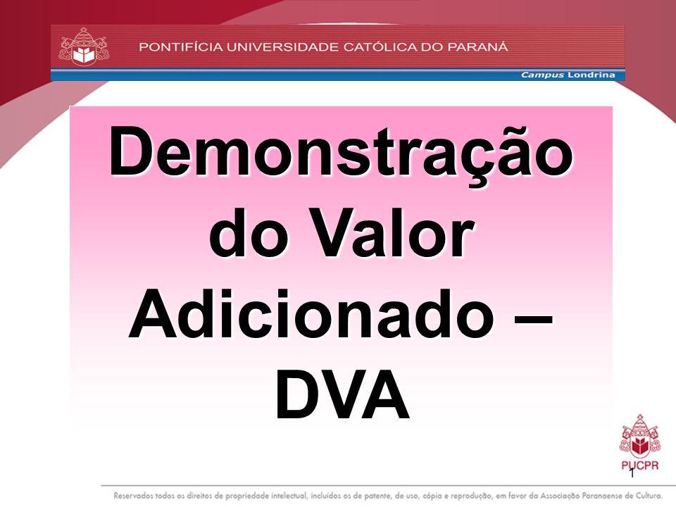 Demonstração do Valor Adicionado – DVA