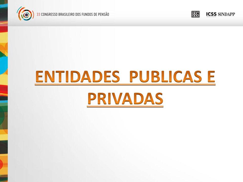 ENTIDADES PUBLICAS E PRIVADAS