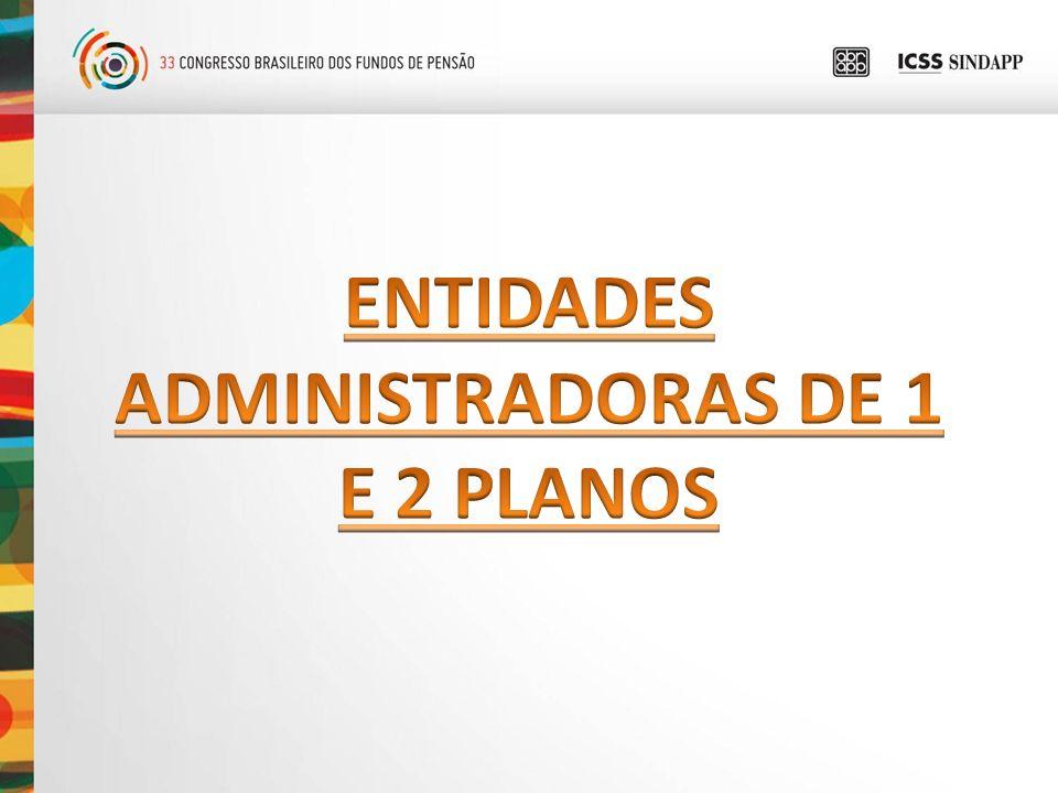 ADMINISTRADORAS DE 1 E 2 PLANOS