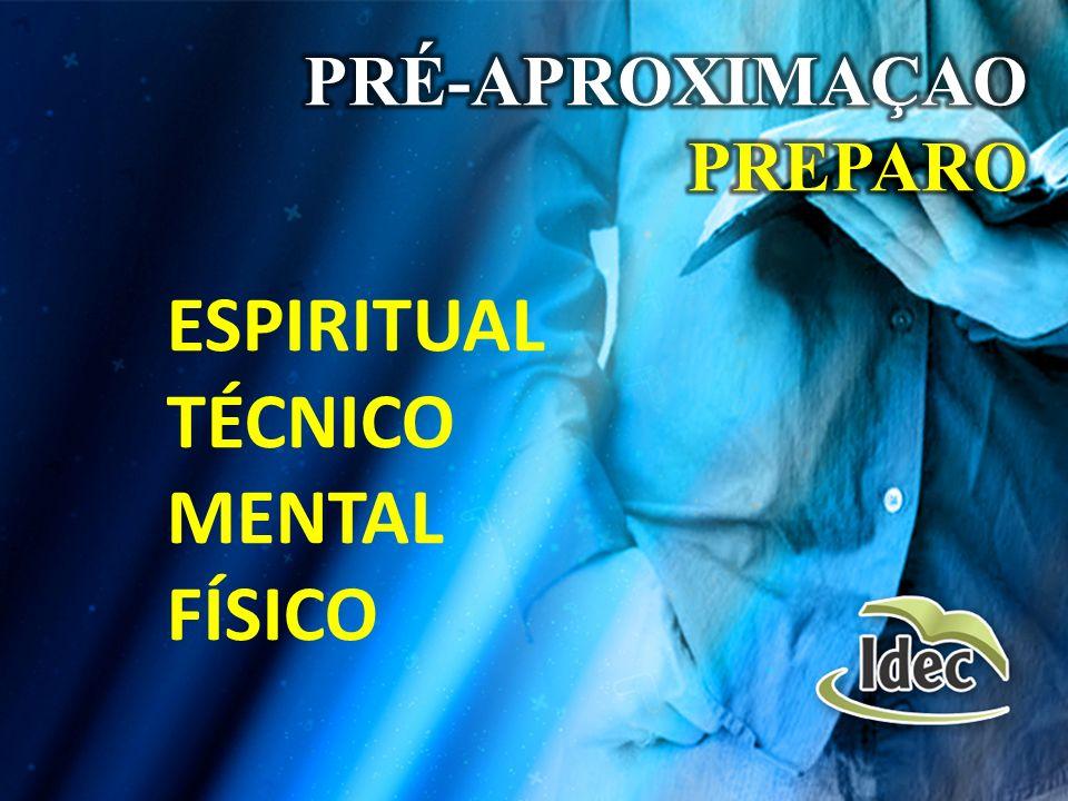 PRÉ-APROXIMAÇAO PREPARO