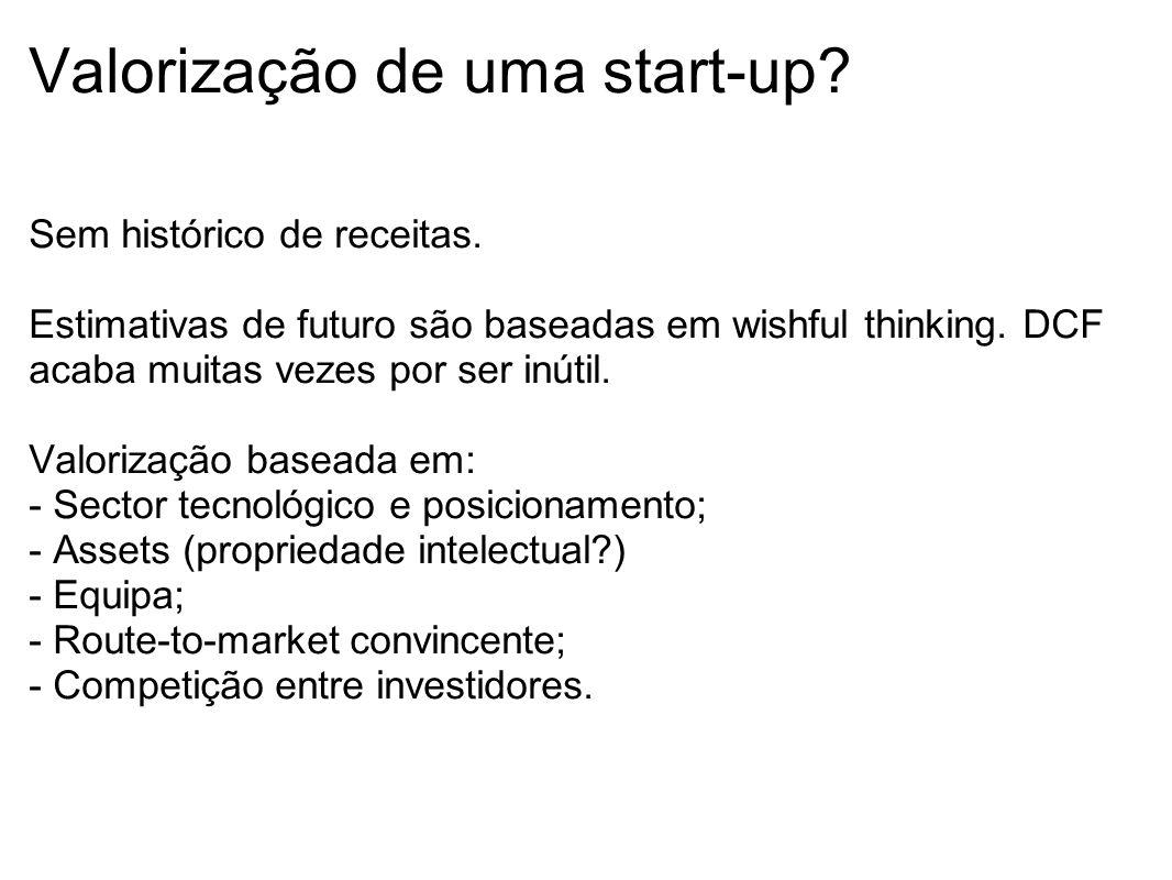 Valorização de uma start-up