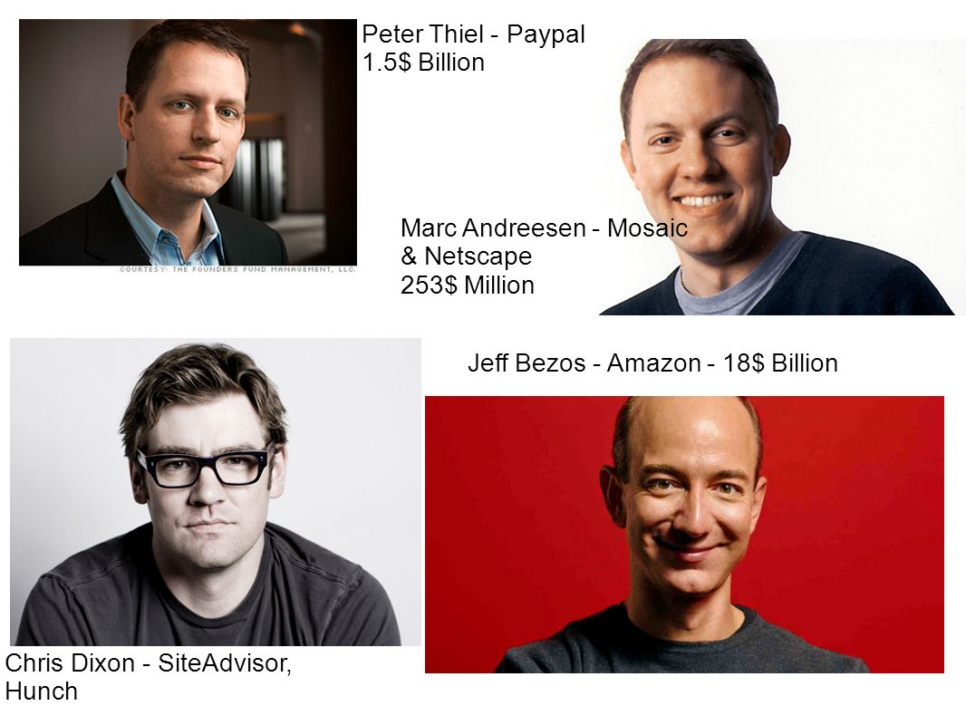 Peter Thiel - Paypal 1.5$ Billion