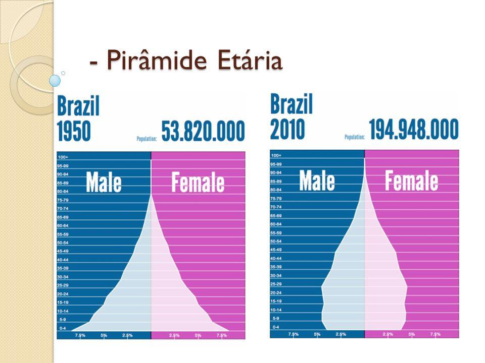 - Pirâmide Etária