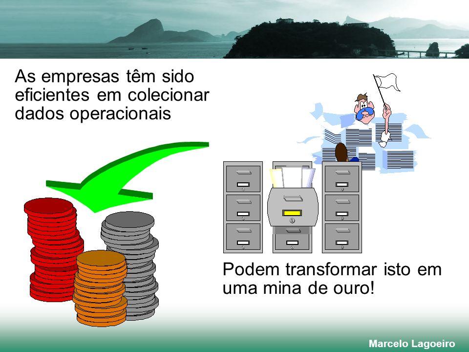 As empresas têm sido eficientes em colecionar dados operacionais