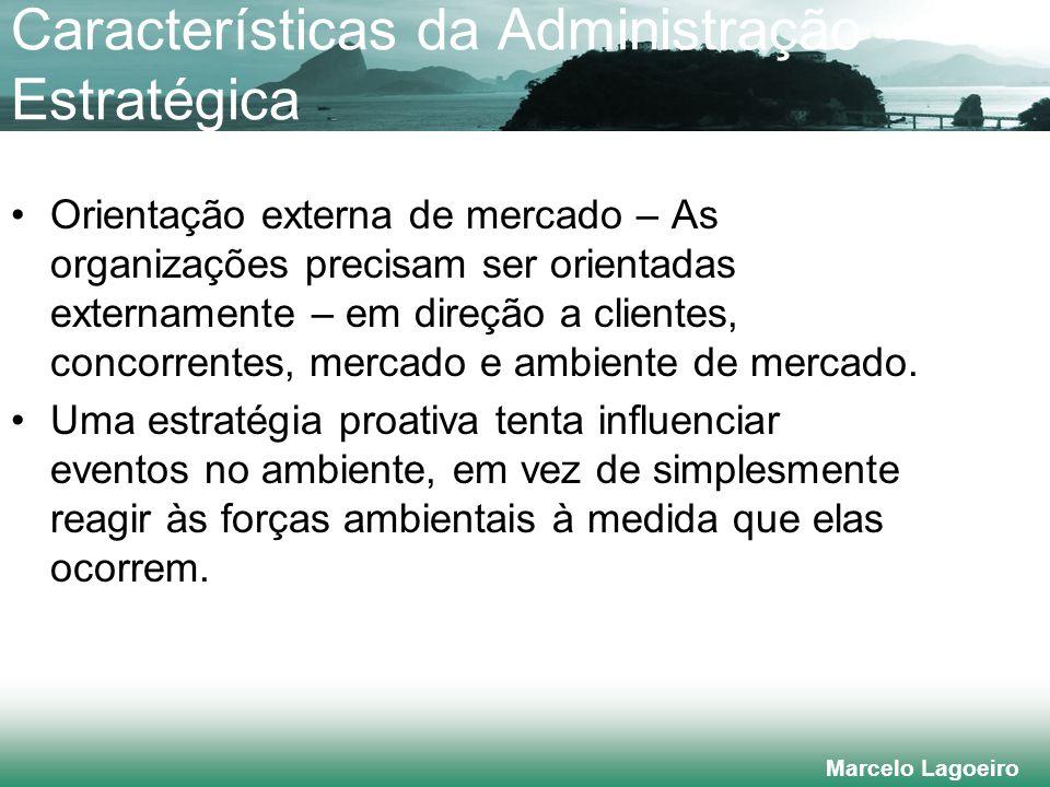 Características da Administração Estratégica