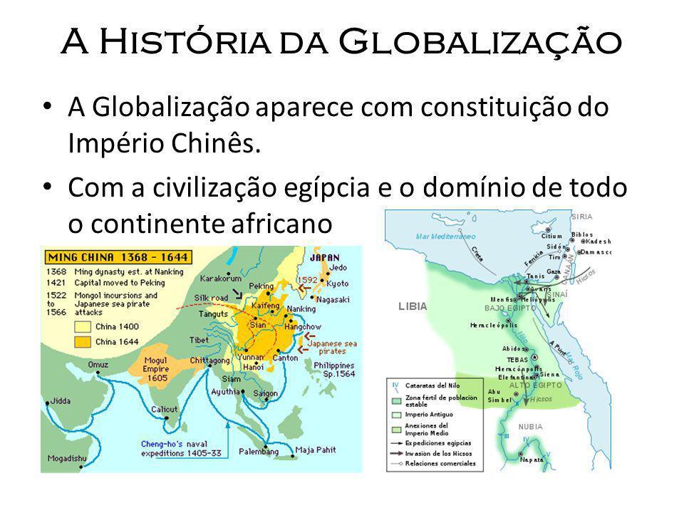 A História da Globalização