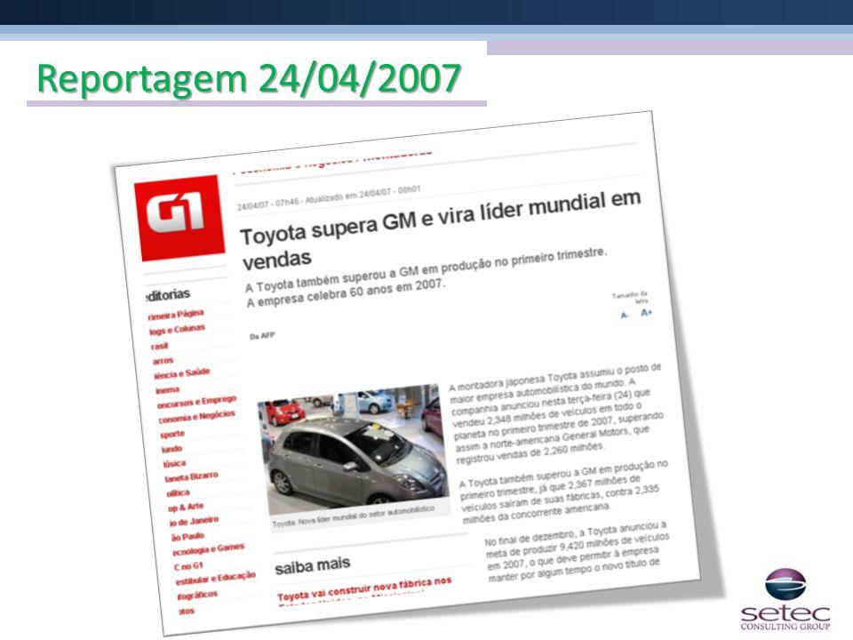 Reportagem 24/04/2007