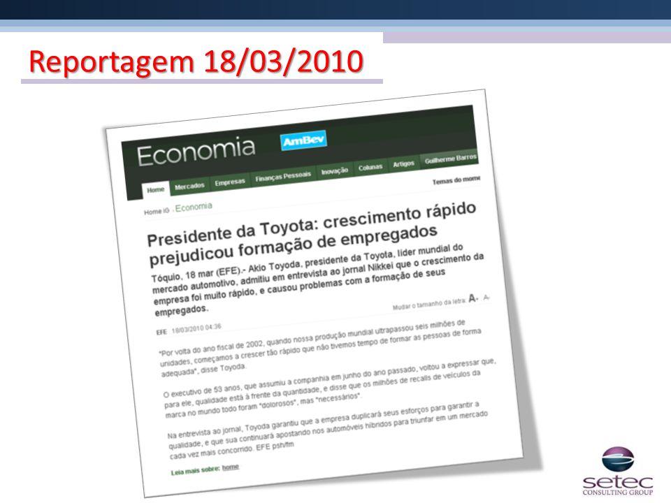 Reportagem 18/03/2010