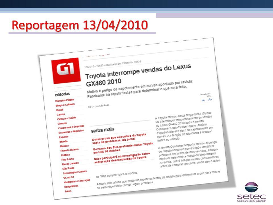 Reportagem 13/04/2010