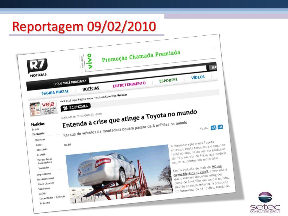 Reportagem 09/02/2010